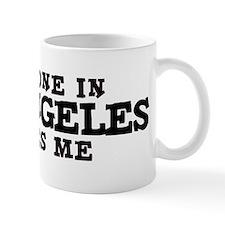 Los Angeles: Loves Me Small Mug