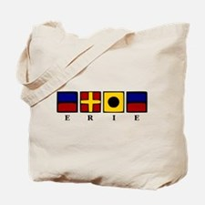 Nautical Erie Tote Bag