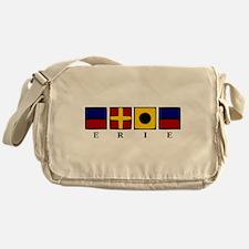 Nautical Erie Messenger Bag