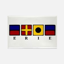 Nautical Erie Rectangle Magnet