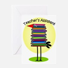 teacher assistant.PNG Greeting Card