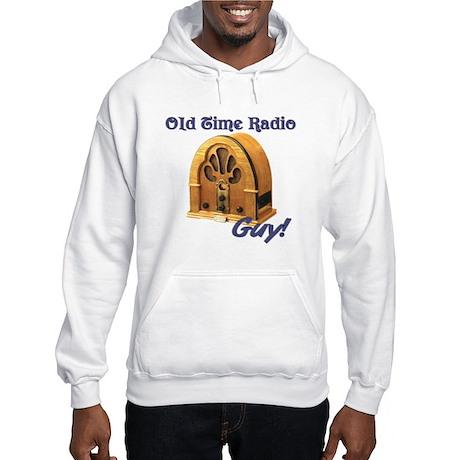 Old Time Radio Guy Hooded Sweatshirt