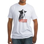 TT Von Bern - Swiss motorcycle race Fitted T-Shirt