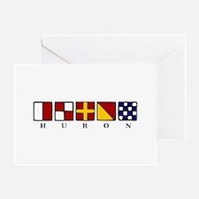 Nautical Huron Greeting Card