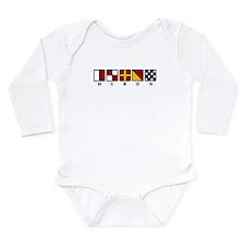 Nautical Huron Long Sleeve Infant Bodysuit