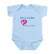 Obama Stayn Together Infant Bodysuit