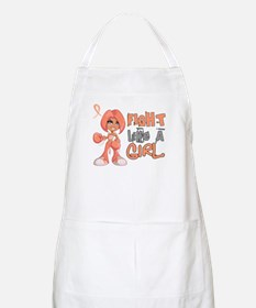 Licensed Fight Like a Girl 42.8 Uterine Canc Apron
