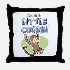 Little Cousin - Monkey Throw Pillow