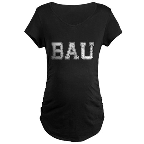 BAU, Vintage, Maternity Dark T-Shirt