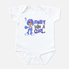 Licensed Fight Like a Girl 42.8 Th Infant Bodysuit