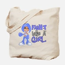 Licensed Fight Like a Girl 42.8 Thyroid D Tote Bag
