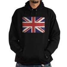 Great Britain flag vintage Hoodie