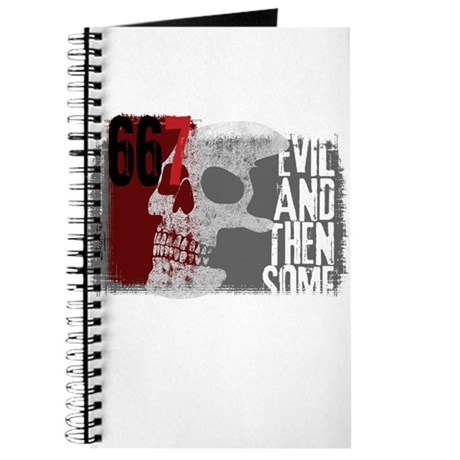 Evil and then some 667 Journal