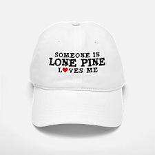 Lone Pine: Loves Me Baseball Baseball Cap