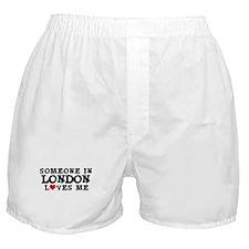 London: Loves Me Boxer Shorts