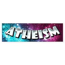 Atheism Shines Bright Bumper Sticker