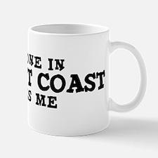 Newport Coast: Loves Me Mug