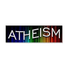 Atheism Light Waves Car Magnet 10 x 3