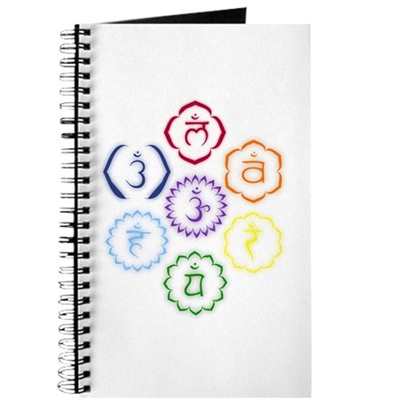 7 Chakras in a Circle Journal