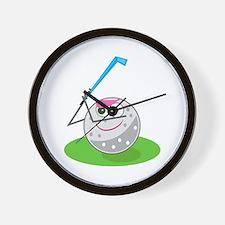 Golf Ball! Wall Clock