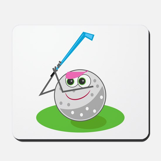 Golf Ball! Mousepad