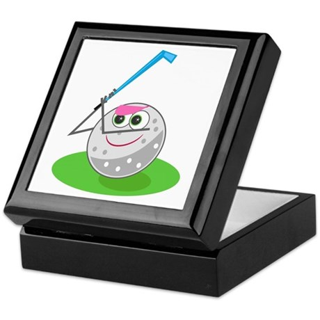 Golf Ball! Keepsake Box