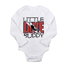 little dive buddy scuba diving Body Suit