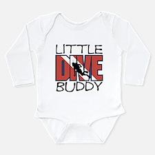 little dive buddy scuba diving Body Suit