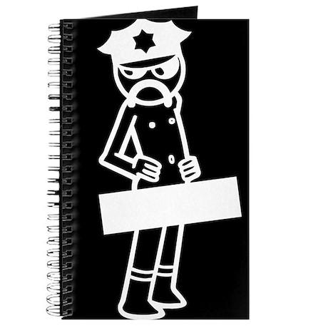 Funny Nude Cop Journal