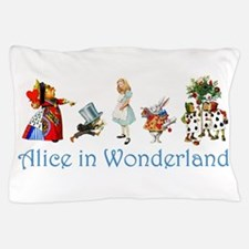 Alice In Wonderland Pillow Case