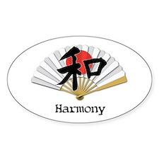 Harmony Geisha Fan Decal