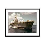 USS OKINAWA Framed Panel Print
