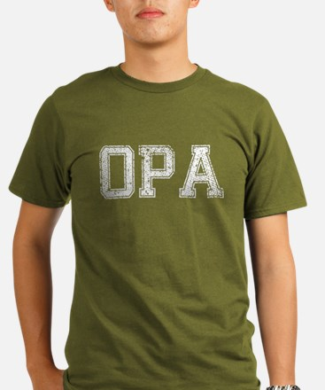 OPA, Vintage, Organic Men's T-Shirt (dark)