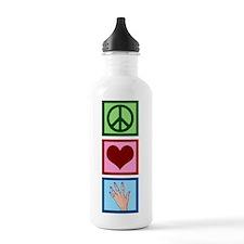Peace Love Manicure Water Bottle