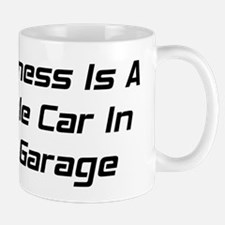 Happiness Is A Muscle Car In The Garage Mug