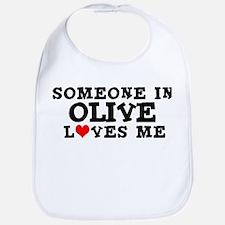 Olive: Loves Me Bib