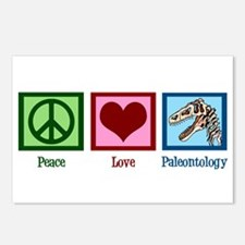 Peace Love Paleontology Postcards (Package of 8)