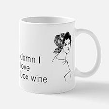 Damn I Love Box Wine Mug