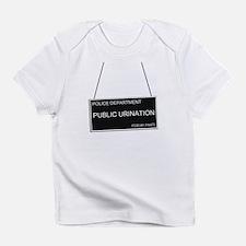 Mugshot Baby - Public Urination Infant T-Shirt