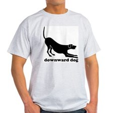 Downward Dog Design T-Shirt