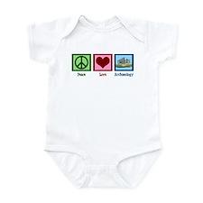 Peace Love Archaeology Infant Bodysuit
