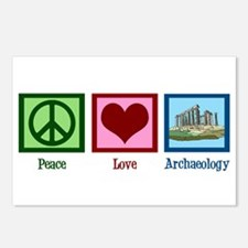 Peace Love Archaeology Postcards (Package of 8)