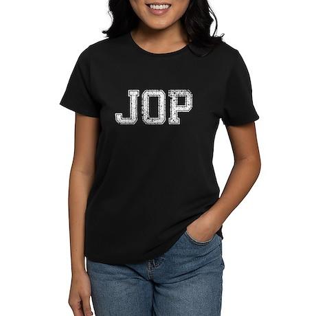 JOP, Vintage, Women's Dark T-Shirt