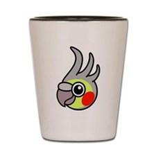 Bird Shot Glass
