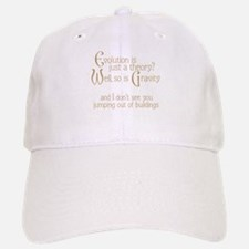 Evolutionary Theory Baseball Baseball Cap