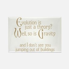 Evolutionary Theory Rectangle Magnet