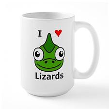 I Love Lizards Mug