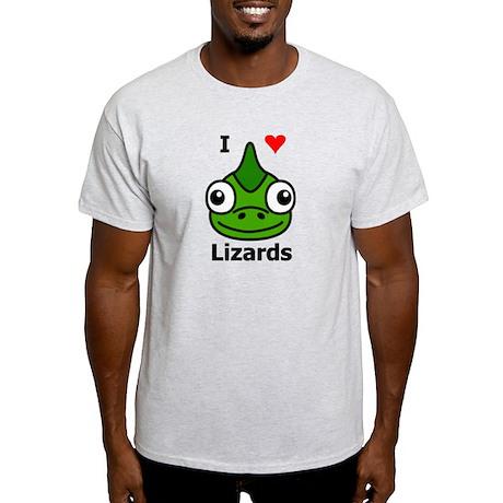 I Love Lizards Light T-Shirt
