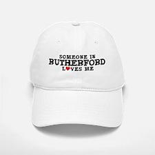 Rutherford: Loves Me Baseball Baseball Cap