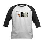 I Build Kids Baseball Jersey